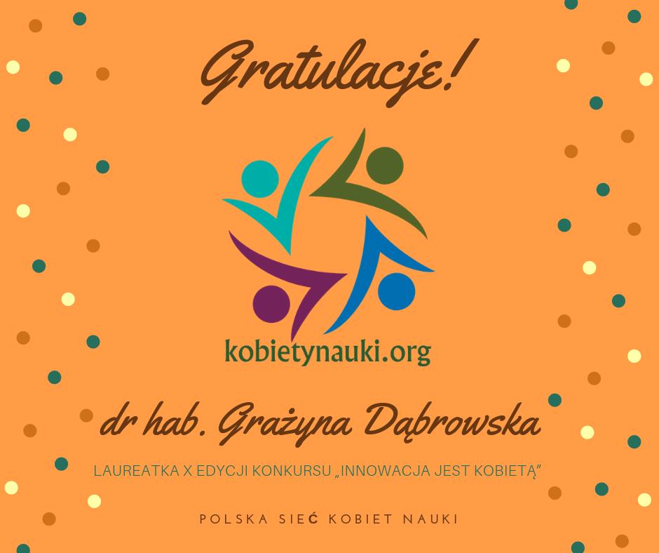 dr GrażynaDąbrowska